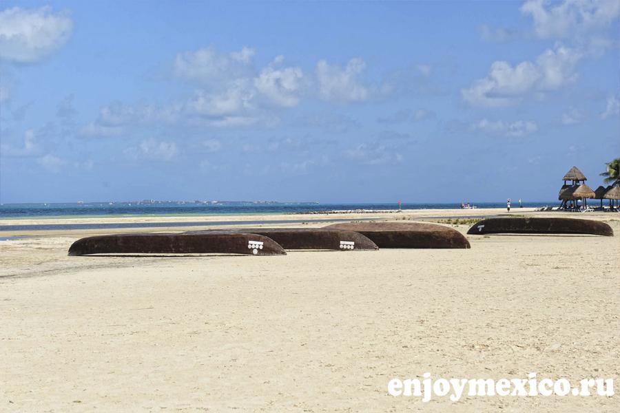 лангоста пляж в канкуне фотографии