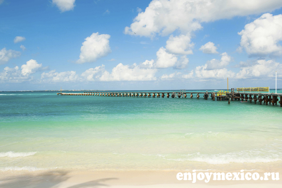 лучшие пляжи канкуна караколь
