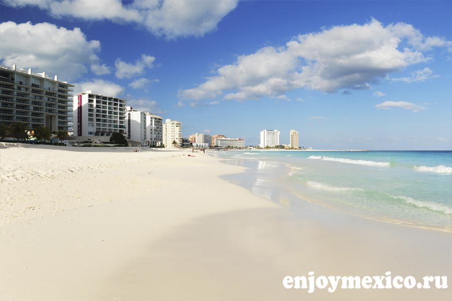 пляж канкуна чак мол