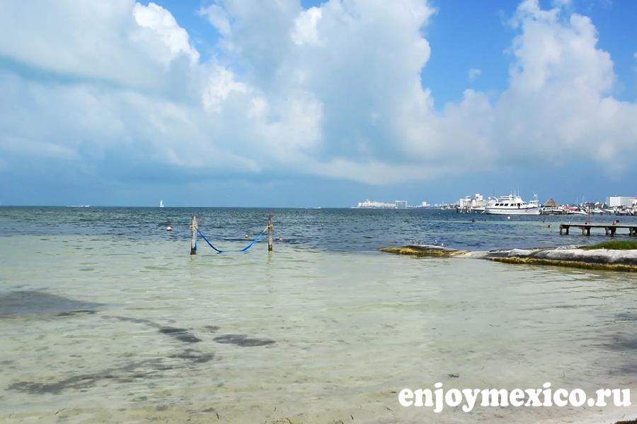 пляж канкуна лас перлас фото