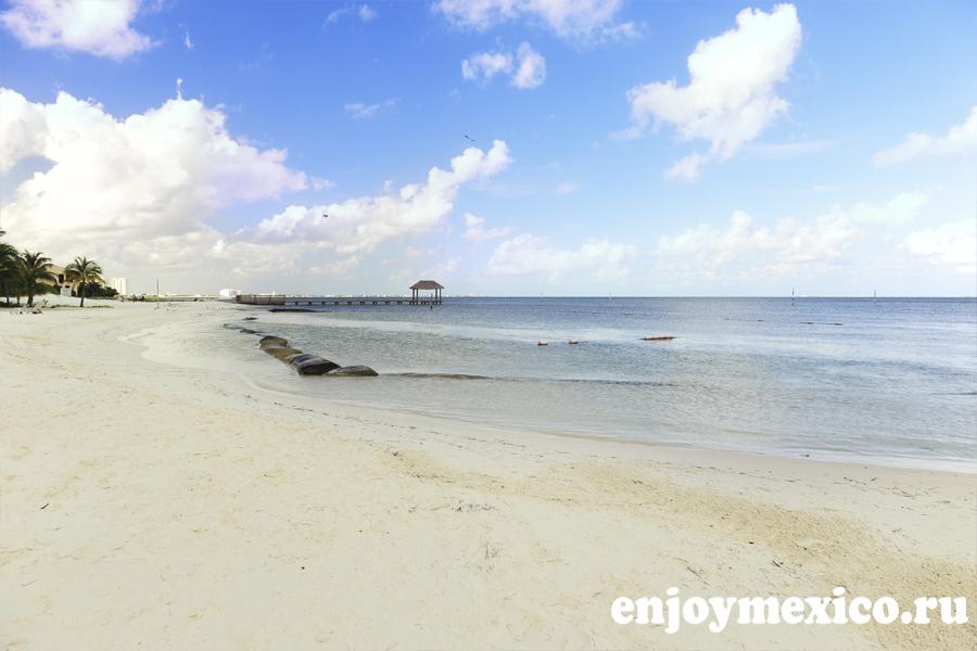 пляж линда канкун