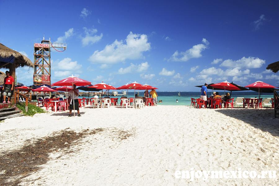 пляжи канкуна тортугас фото