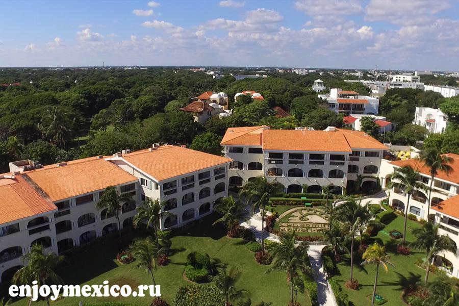 плая дель кармен мексика фото с дрона