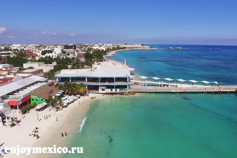 плая дель кармен мексика фото