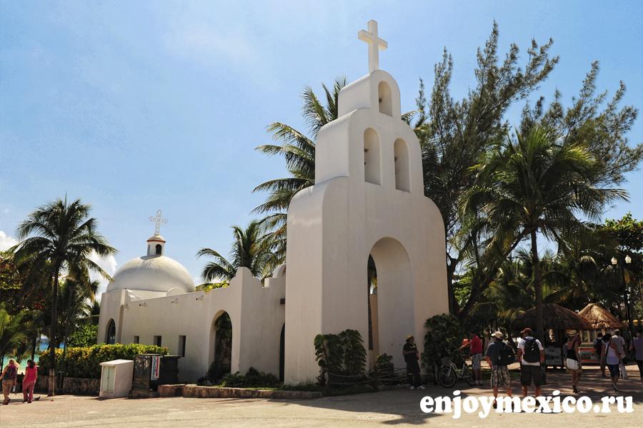 плая дель кармен мексика церковь