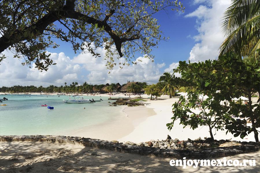пляж акумаль мексика фото