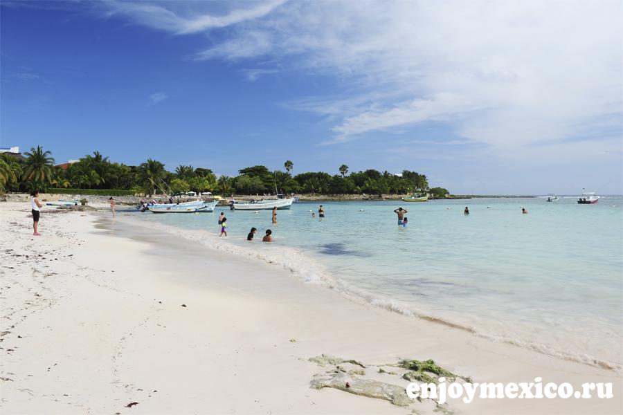 пляж акумаль мексика