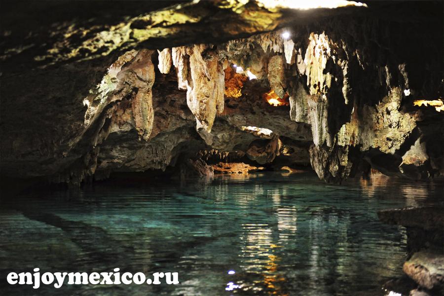 сеноты в мексике подземные