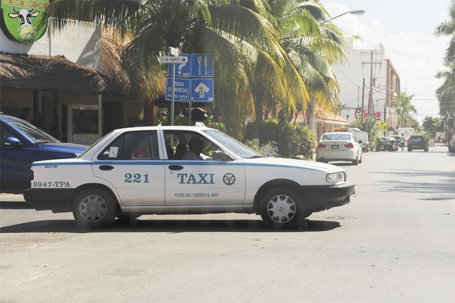такси в канкуне