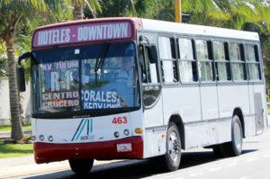 транспорт в мексике автобусы