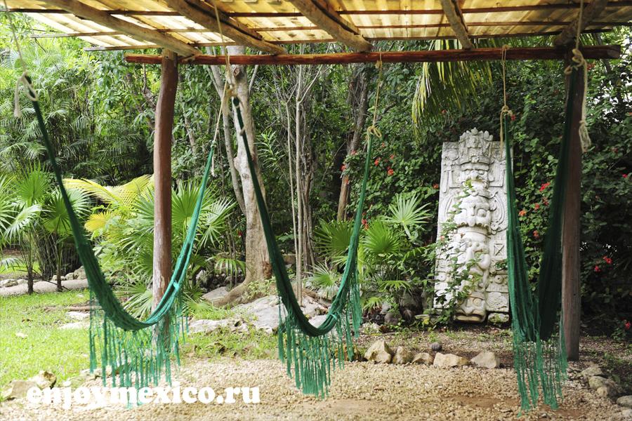 гамаки в сеноте мексика