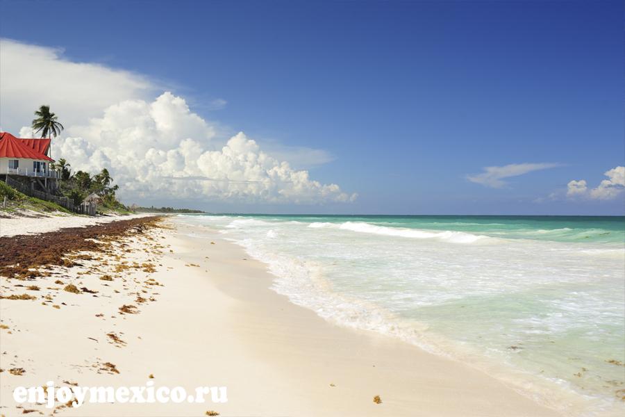 сиан каан пляж