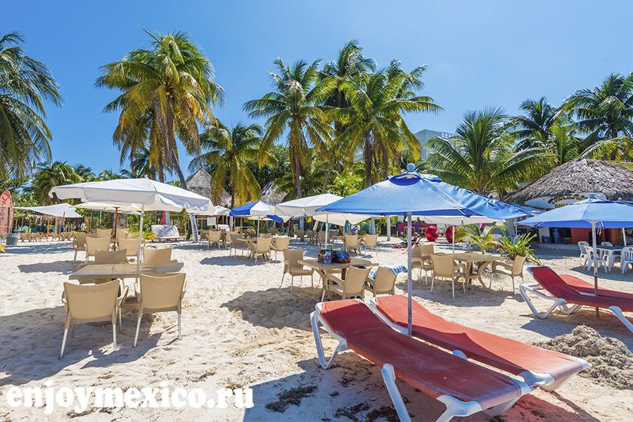 фото пляжного клуба на исла мухерес