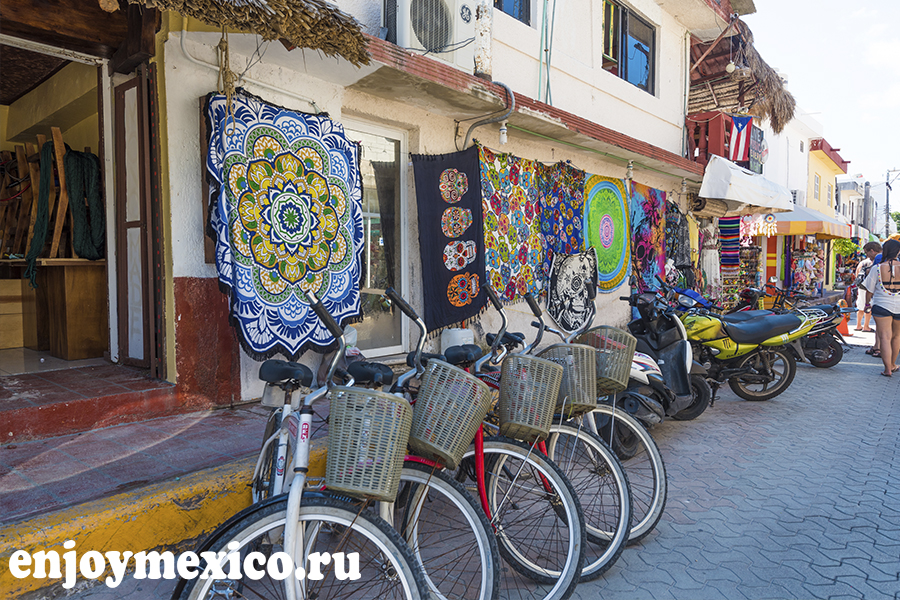 исла мухерес мексика фото велосипедов