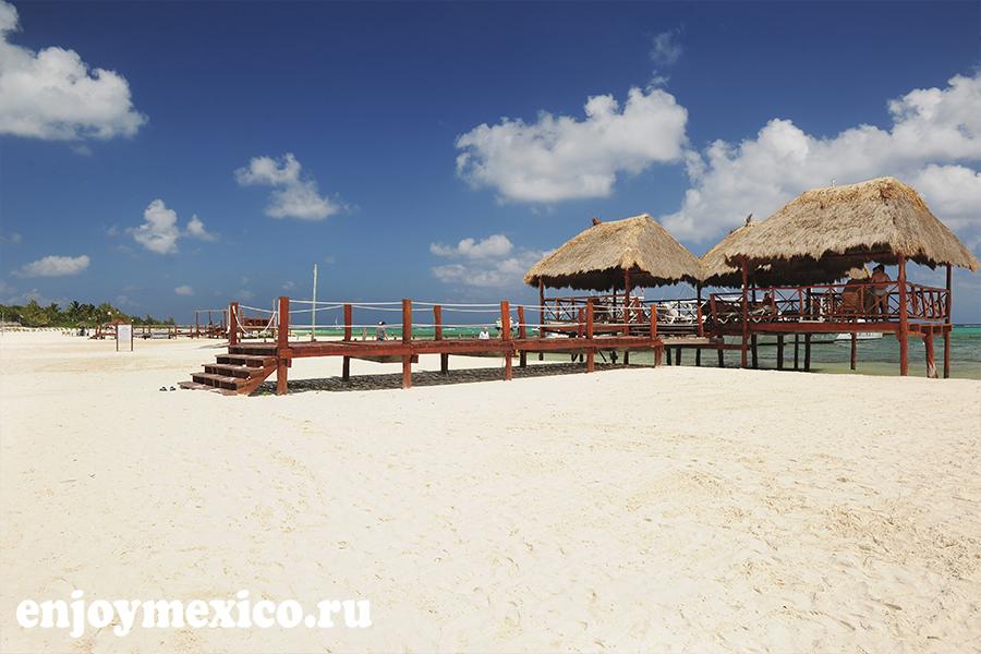 пляж марома мексика общий вид