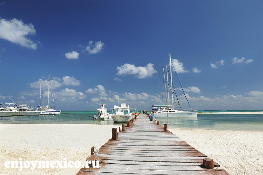 пляж марома мексика пристань