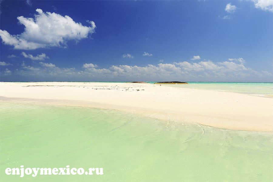 вид на пляж марома
