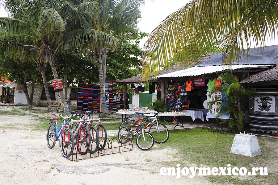 аренда велосипедов пуэрто морелос мексика
