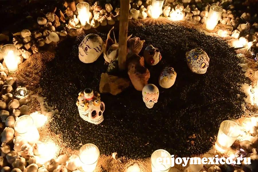 день смерти праздник в мексике