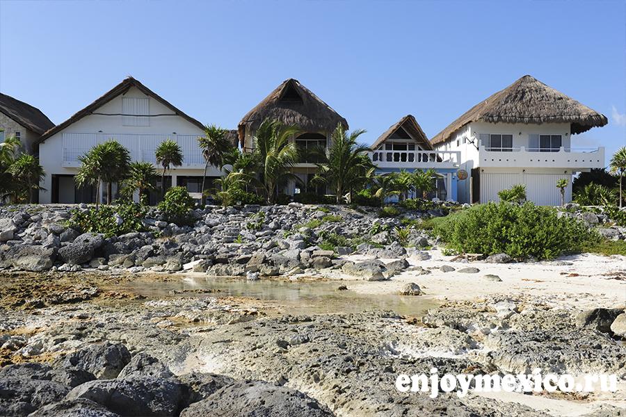 дома на берегу моря фото