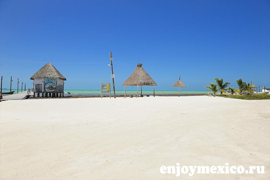 фото пляж остров холбокс