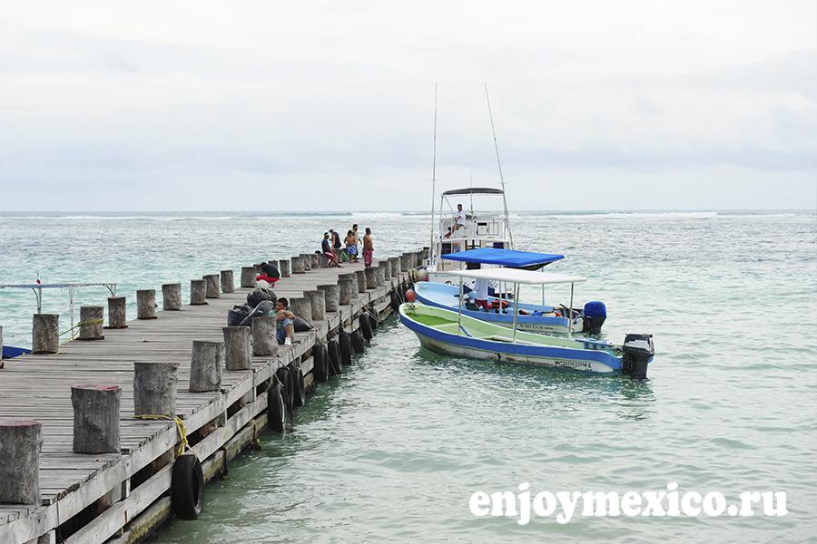 лодки в пуэрто морелос мексика
