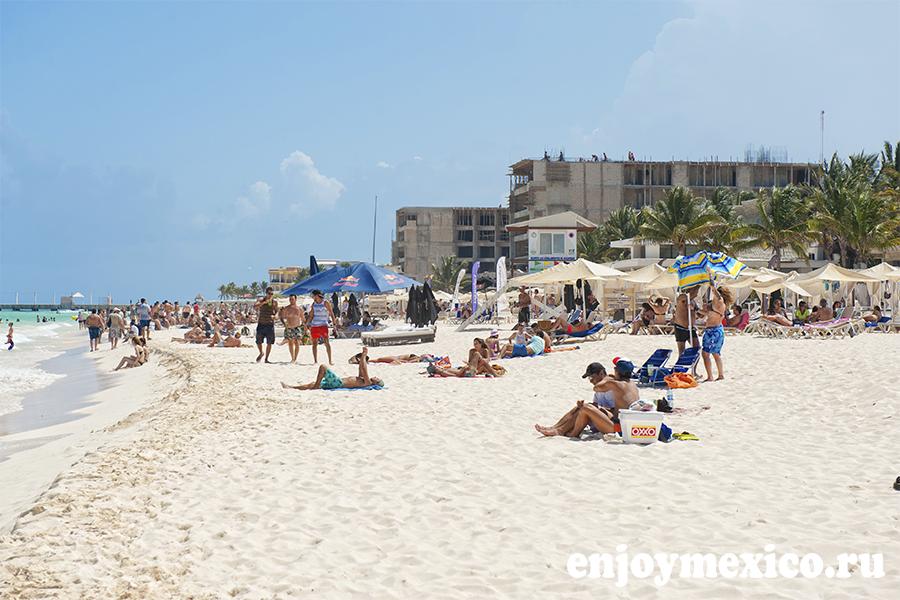 мамитас пляж плая дель кармен