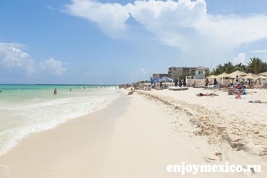 отдых пляж мамитас мексика