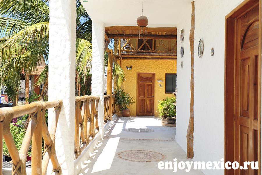 отель casa lupita остров холбокс