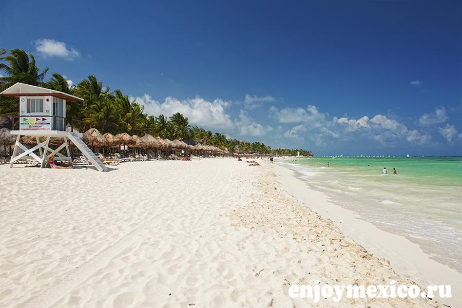 пляж мамитас плая дель кармен