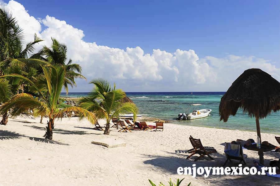 пляж паамуль в мексике