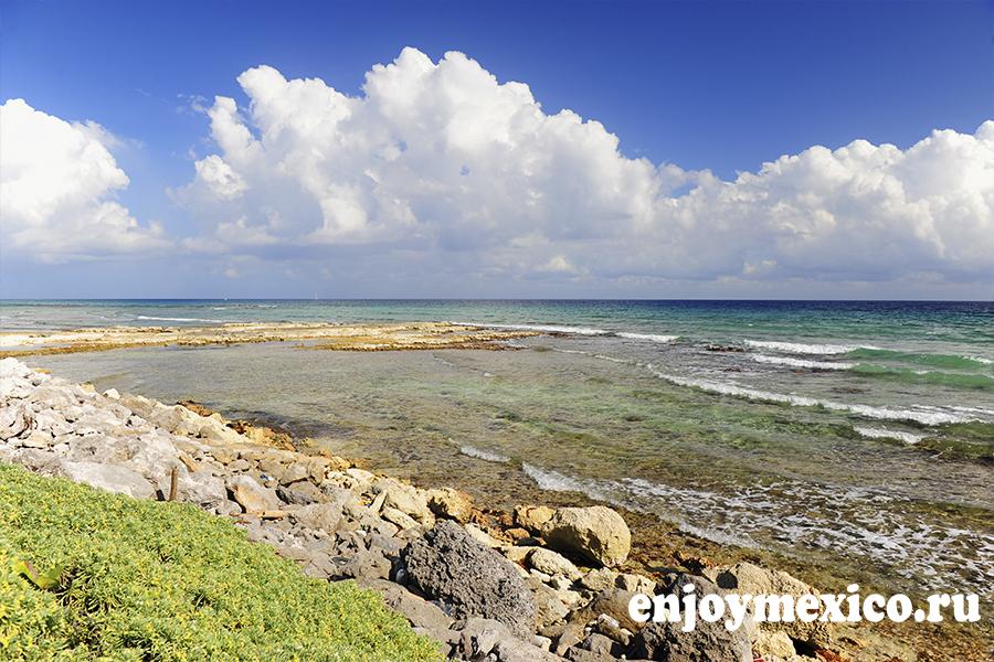 пляж паамуль ривьера майя