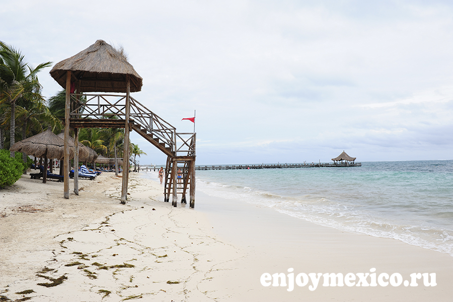 пляж пуэрто морелос фото