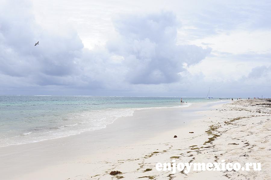 пляж пуэрто морелос фотография