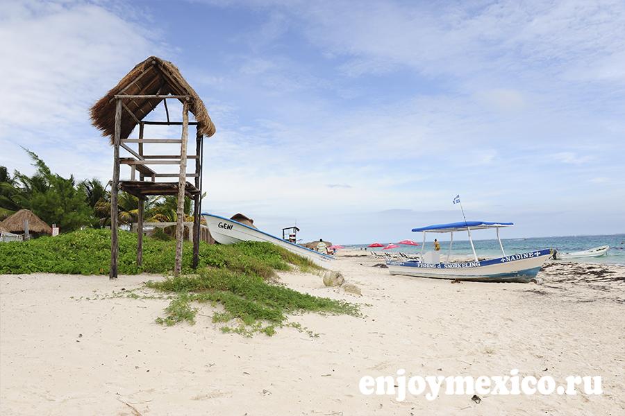пляж пуэрто морелос