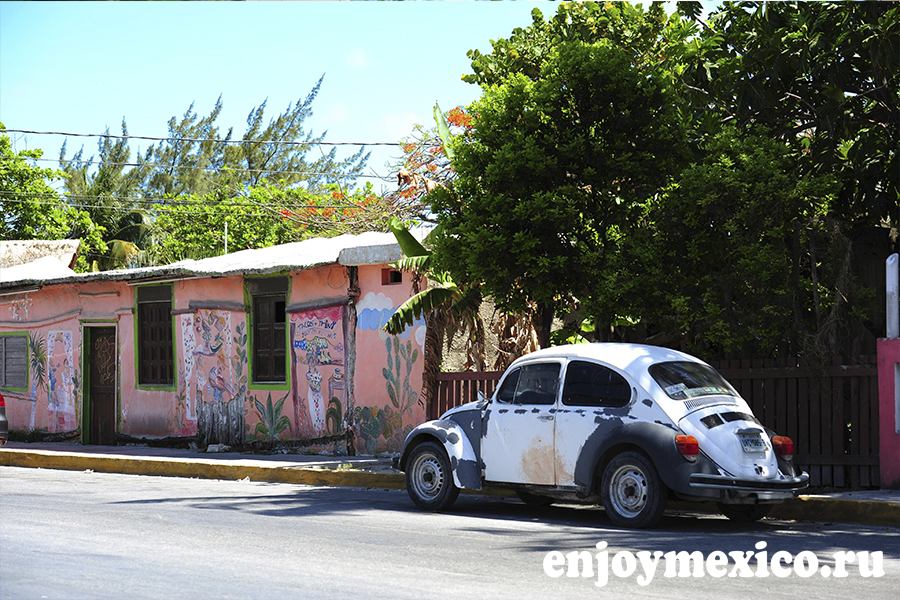 пуэрто морелос мексика машина