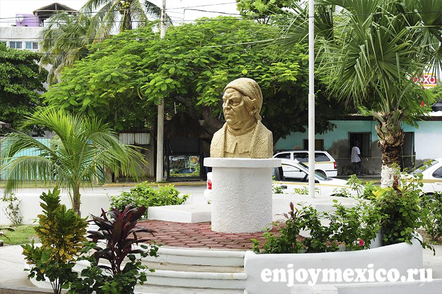 пуэрто морелос скульптура