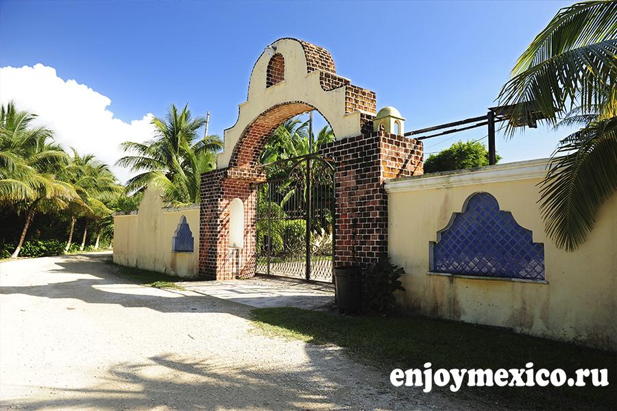 ворота в мексике фото пляж паамуль