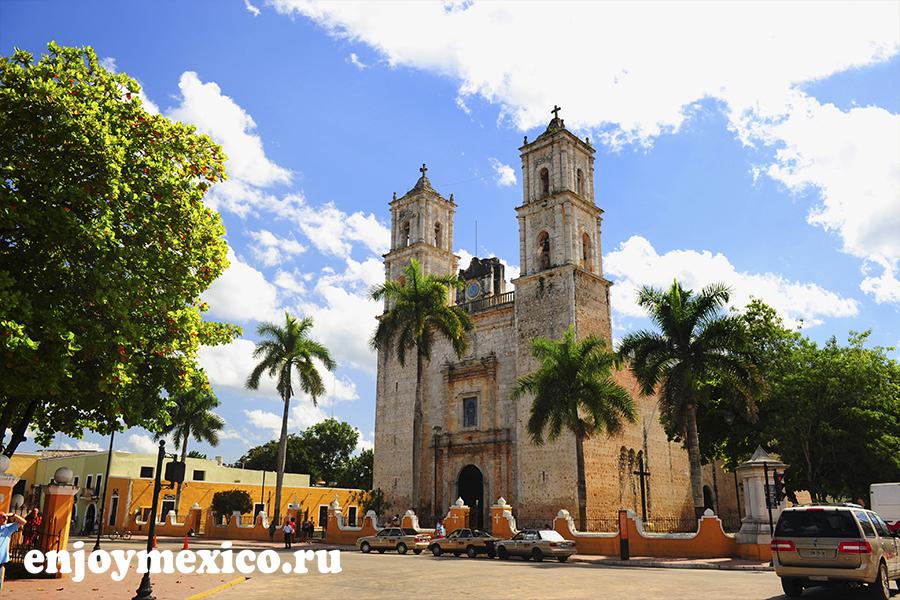 кафедральный собор сан гервасио вальядолид мексика