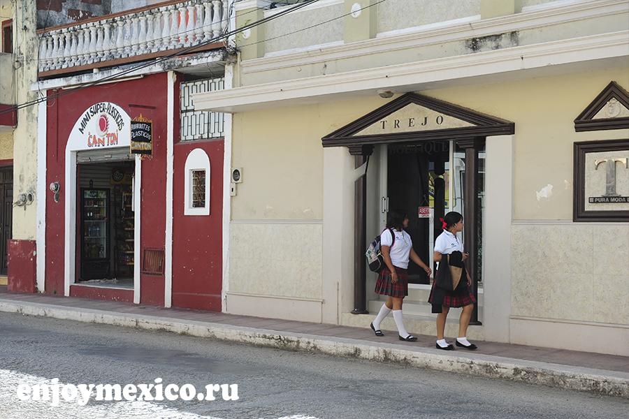 мексика вальядолид фото улицы