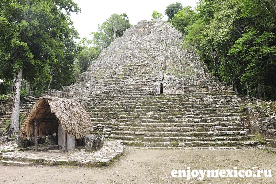 пирамида коба мексика фото