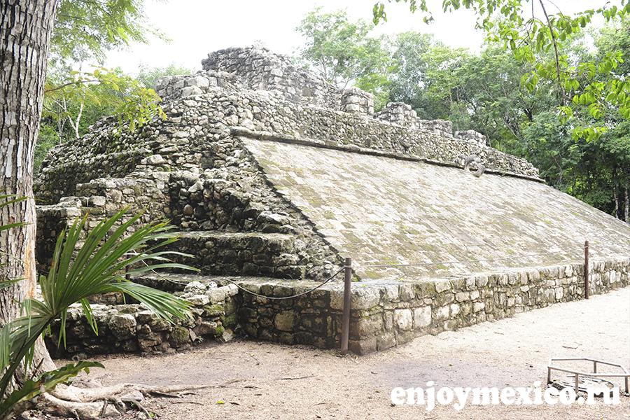 пирамида коба мексика как добраться