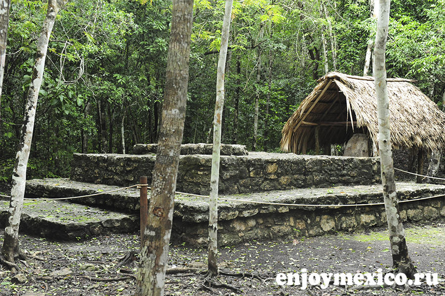 пирамида коба мексика культура