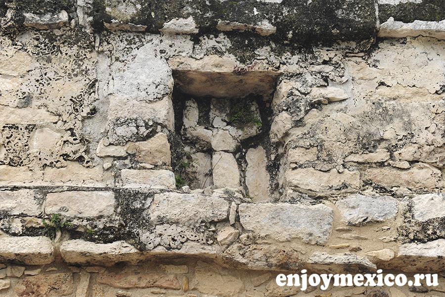 пирамида коба мексика скульптура