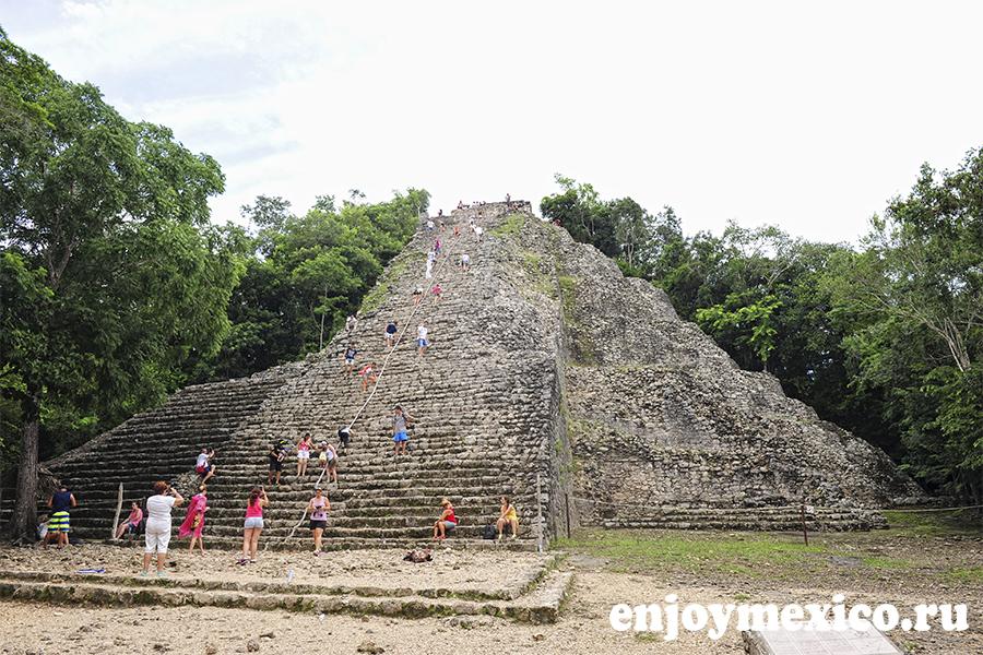 пирамида коба мексика