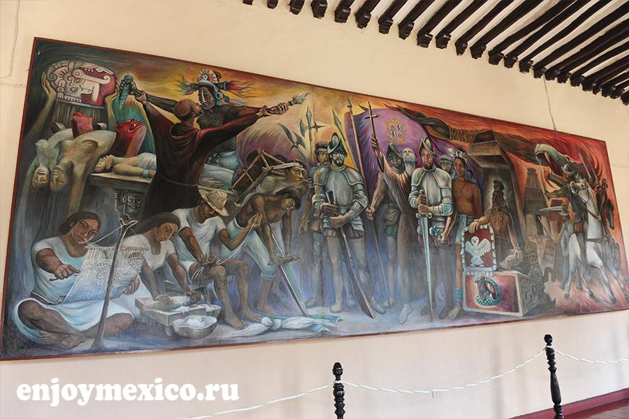 салон де лос муралес вальядолид мексика