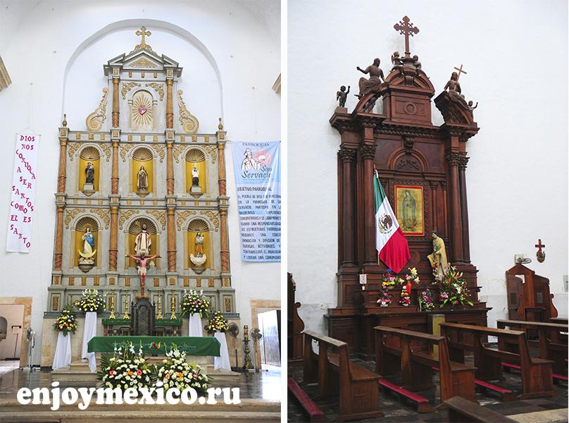 собор сан гервасио вальядолид мексика фото
