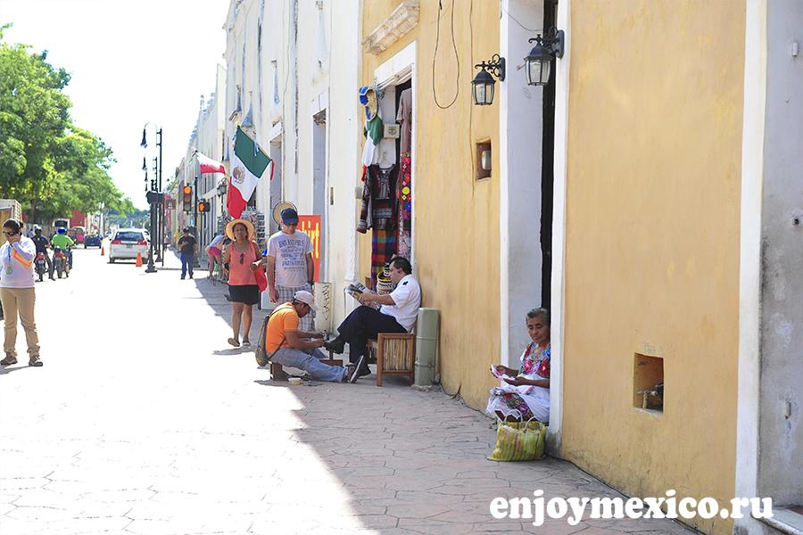 центральная улитца мексика вальядолид