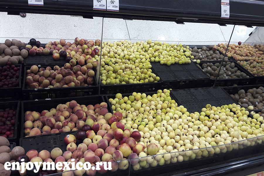цены в мексике фрукты