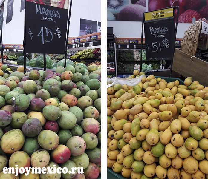 цены в мексике на фрукты